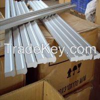 Aluminum extrusion handle