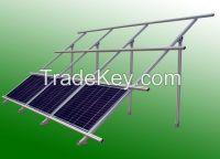 Aluminum rack for solar panel