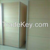 Sealing side aluminum profile for Wardrobe