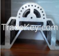 big and difficult aluminum profile