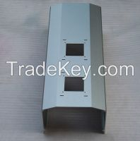 extruded and machined aluminum housing