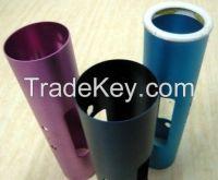 Aluminum tube part