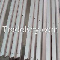 Extruded aluminum pole