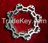 shaped aluminum extrusion profile