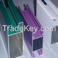 Aluminium profile with anodizing surface