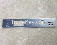 aluminum face panel for electronic
