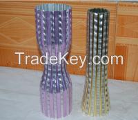 Aluminium tube fabrication