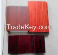 Aluminum profile with wooden color powder coating surface