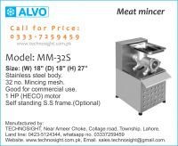 Commercial Meat Shop Equipment sale in Pakistan, Meat Display Chiller
