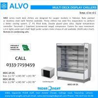 ALVO Multi Deck Chiller, Open display Chiller in Pakistan