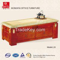 L33 marble soild reception desks