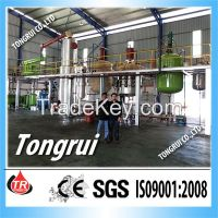 Vacuum Distillation Car Oil Recycle Plant