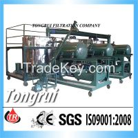 Used Motor Engine oil recycling plant