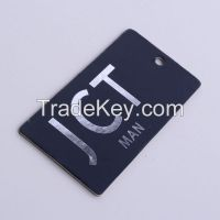 High quality paper printed garment hang tags for clothing swing labels