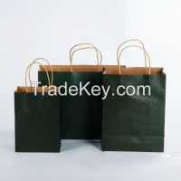 Custom gift paper bags wholesale / packaging paper bags for apparel/crafts