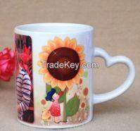 can print photo on ceramic sublimation mug