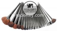 Popular 24 Pcs Natural Hair Makeup Brushes