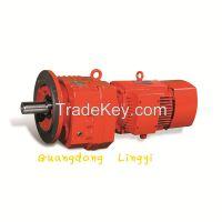 GR Series Helical Wheel Speed-down Motor