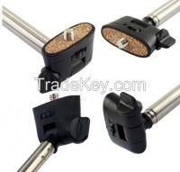 2014 Factory price wireless extendable legoo bluetooth selfie stick mo