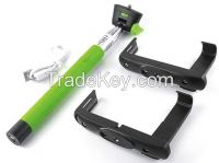 Bluetooth Monopod Selfie Stick with Remote Shutter Function compass mo