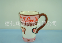 Ceramic glazed coffee cup, OEM custom logo ceramic cup, ceramic coffee cup , ceramic mug cup
