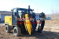 hydraulic wheel Christmas tree transplanting machine