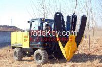 hydraulic tree spade
