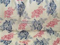 Bedding fabric  , la tela de cama Polyester brush bedding fabric  usual