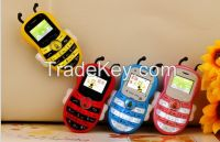 Colorful bar phone for children gift cute style cheap price with disco light
