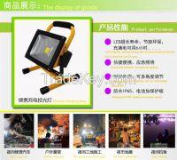 Led charging portable cast light vehicle emergency lights moving cast