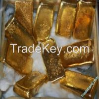 RAW GOLD BARS / NUGGET