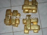 GOLD BARS AND NUGGET