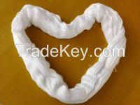 100% polyester hank yarn 42s/2 bright