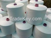 polyester yarn raw white 603
