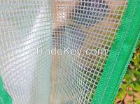 PVC mesh zipper Bag, Document Bag