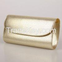 Fashion Women Clutch Handbags Gold Evening Bags Small Quantity Wholesale