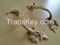 """11"""" (28cm) Cast Brass Door Pull Handle"""