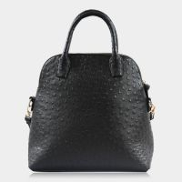 Dome Satchel Top Handle Bag