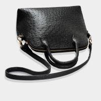 Dome Satchel Top Handle Bag