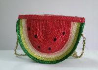 Wheat Straw Cross-body Bag
