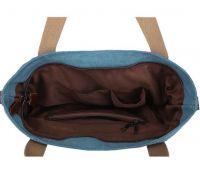 Canvas Cross-body Handbag