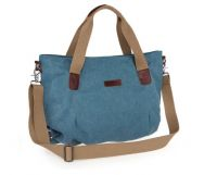 Canvas Cross-body Handbag