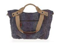 Canvas Shoulder Handbag