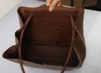 Retro genuine Leather shoulder handbags