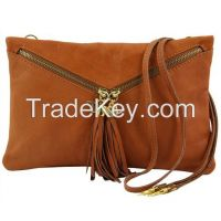 Genuine Leather clutch Handbag Wristlets