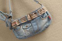 Casual Women Jeans style Denim Shoulder handbags