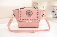 Hollow laser Cut Out Top handle Shoulder Crossbody handbag