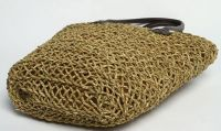 Straw Shoulder Beach Bag