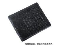 Man crocodile Leather purses