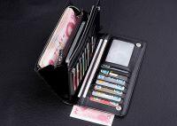 Mens Business Leather Card Cash Holder Bifold Wallet